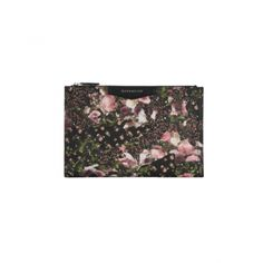 Givency - Floral Print Clutch