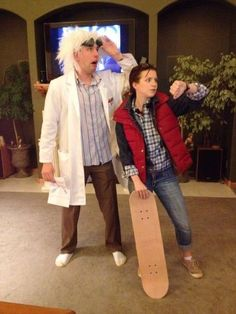 A back to the future costume? I think they pull it off good, what do you think?