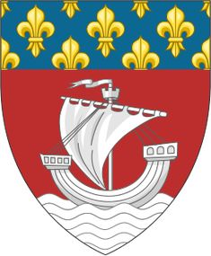 City of Paris coat of arms Coat Of Arms, Investigations, City, Study, Cities