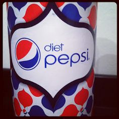 Limited Edition Diet Pepsi Straws
