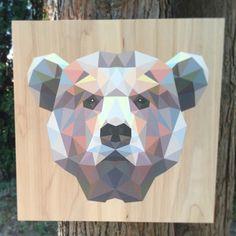 Reclaimed Print Co | We print on wood | Bright Elephant