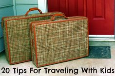 Tips for Kid-Friendly Travel found at http://www.dirtandboogers.com/2012/05/20-tips-for-traveling-with-kids.html