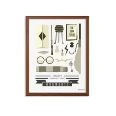 Harry Potter  Wizard's Life Poster  Modern Typography by SealTypo, $5.00