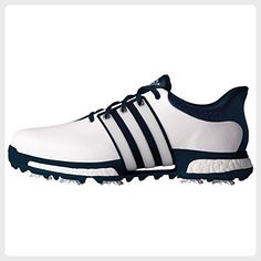 b4a0f01396fb87 Adidas Tour360 Boost, Men's Golf Shoes, Multicolored (White/Dark  Slate/Silver