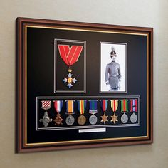 Display your #Medals on your wall at home with our #BespokeMedalFrames to suit your individual specification, made to order to fit any number of medals.
