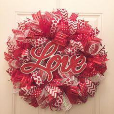 Love Valentine Wreath