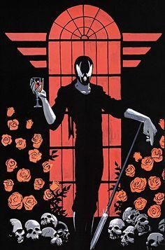 Matt Wagner demon   Grendel - Matt Wagner - Hunter Rose - Comico Dark Horse comics