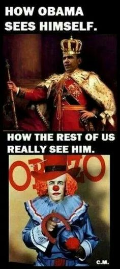 He's not a funny clown either! He's more like a John Wayne Gasey clown!