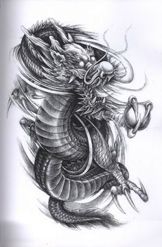 Dragon Tattoo Design