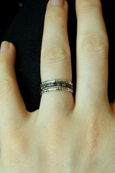Sterling Silver Knuckle and Joint Stackables, Made to Order
