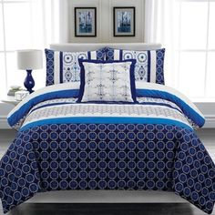 Shop for Lauren Taylor Nolan 4-piece Cotton Duvet Cover Set. Get free shipping at Overstock.com - Your Online Fashion Bedding Outlet Store! Get 5% in rewards with Club O! - 17197381