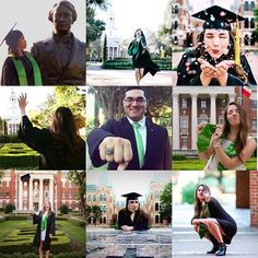 Think outside the box for your Baylor graduation photos! Show your personality and how you really feel about graduating!