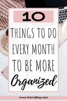 How To Be More Organized, Getting Organized, Organization Hacks, Organizing Clutter, Organising, Planner Tips, Time Management Tips, Organize Your Life, Self Improvement