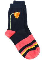 Shop Paul Smith Black Label star pattern socks.