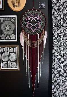 Lotus Flower Dream Catcher