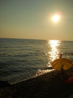 Le Ginestre Beach, Trieste, Italy