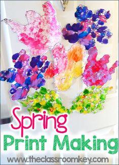 Spring printmaking a