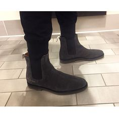 chelsea boots in black suedeCommon Projects KuDmp2Ex