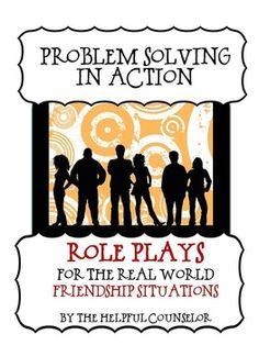 Problem Solving Role Playing - Friendship Edition ~ Helpfu