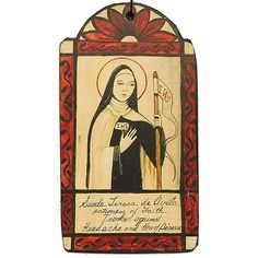 St. Teresa de Avila Invoked against headaches and heart disease