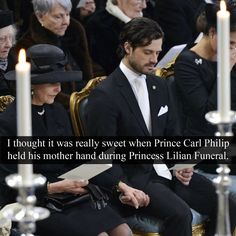 """royal-confessions: """"(Post by Varya) """"I thought it was really sweet when Prince Carl Philip held his mother hand during Princess Lilian Funeral."""" - Submitted by Anonymous """" Princess Sofia Of Sweden, Princess Victoria Of Sweden, Princess Estelle, Crown Princess Victoria, Royal Princess, Swedish Royalty, English Royalty, Prinz Carl Philip, Royals Today"""
