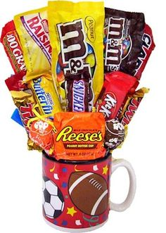 All Sports Candy Bouquet from All About Gifts and Baskets
