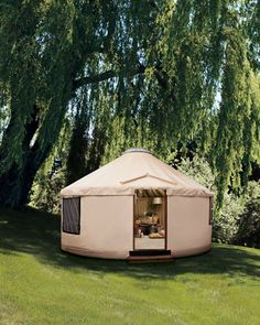 $75,000 yurt from Neiman-Marcus.   I don't really want a luxury yurt, just a yurt.