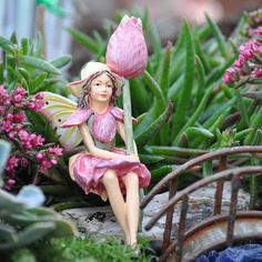 Miniature Fairy Garden Tulip Fairy Add an Accent http://www.amazon.com/dp/B009P8BKZM/ref=cm_sw_r_pi_dp_48oItb1ZNTCKH7VS