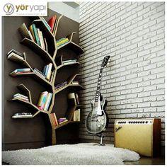 Bir kitaplık fikri olarak 'Kitap Ağacı' :)
