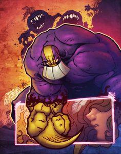 The Maxx by Auronasia by artmunki on DeviantArt Comic Movies, Comic Books Art, Comic Art, Comic Character, Character Design, The Maxx, Comic Pictures, Image Comics, Weird Art