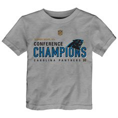 Newborn Carolina Panthers Gray Stacked Fan Bodysuit