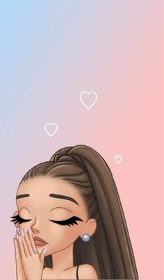 in all things.talk to God.He truly cares Ariana Grande Anime, Ariana Grande Drawings, Ariana Grande Fotos, Ariana Grande Wallpaper, Ariana Grande Pictures, Mood Wallpaper, Cute Wallpaper Backgrounds, Girl Wallpaper, Disney Wallpaper