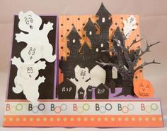 Cricut Halloween Card