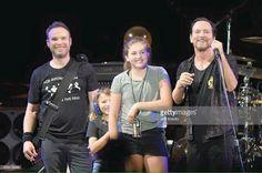 Eddie and his daughters. Love Jeff big smile!                                                                                                                                                     More