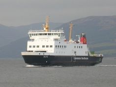 Caledonian MacBrayne......Our ferry back and forth to Androssan. CalMac is great, they have a cosy bar on board and lots of goodies to eat..............