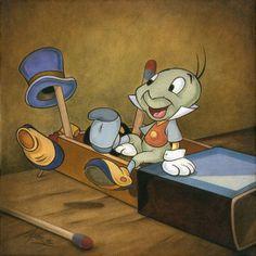 Everyone needs a conscience. Jiminy Cricket from Disney's Pinocchio.