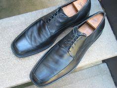 Vintage Calvin Klein Mens Black Oxfords by VintageClassicWares, $50.00