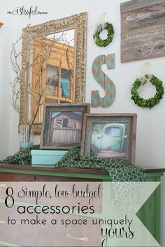 8 Simple, Low-Budget Accessories to Make a Space Uniquely Yours - My Blissful Space