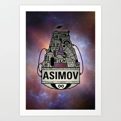 'Forever Asimov' iPhone Case by olivertrigger Isaac Asimov, Iphone Cases, Darth Vader, Art Prints, Posters, Fictional Characters, Postres, Banners, I Phone Cases