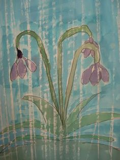 April Showers Watercolors