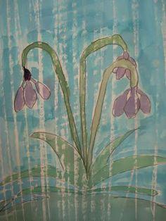 April Showers Watercolors