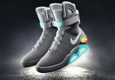 the latest 7b5fd a1c31 Back To The Future II (1989). The Nike Mag. Shoes 2015,