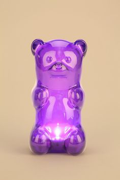 Gummy Bear Light! Squeeze the belly to turn it on. #urbanoutfitters