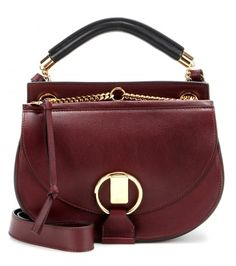 Borsa a tracolla Goldie Small in pelle