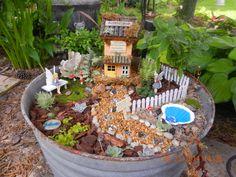 FAiRy GaRDeN ___Nancy Jean Cornflower live here. Nancy Jean blows fairy dust kisses to all the plants so they will grow flourish