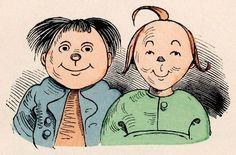 Max und Moritz :Eine Bubengeschichte in sieben Streichen  by Wilhelm Busch