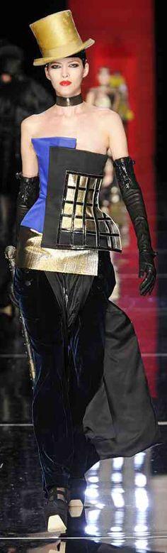 ✜ Jean Paul Gaultier Winter 2012 Paris ✜ http://vogue.globo.com/desfiles/cidade/paris/jean-paul-gaultier-paris-inverno-2013-2/