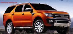 Ranger SUV poderá chamar-se Everest