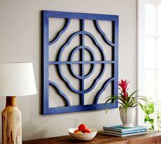 Geometric Tile Wall Panel | Pottery Barn