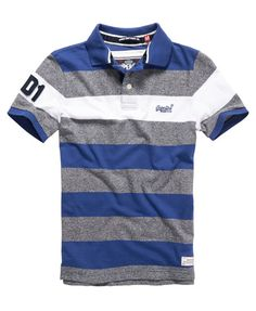 Superdry Grindle Hoop Stripe Polo